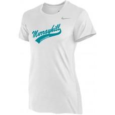 Murrayhill Little League 22: Nike Women's Legend Short-Sleeve Training Top - White