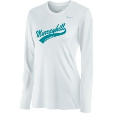 Murrayhill Little League 25: Nike Women's Legend Long-Sleeve Training Top - White