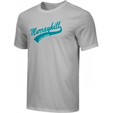 Murrayhill Little League 26: Adult-Size - Nike Combed Cotton Core Crew T-Shirt - Gray