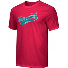 Murrayhill Little League 26: Adult-Size - Nike Combed Cotton Core Crew T-Shirt - Scarlet