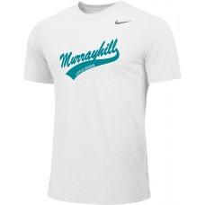Murrayhill Little League 20: Adult-Size - Nike Team Legend Short-Sleeve Crew T-Shirt - White