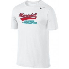 Murrayhill Little League All-Stars 20: Adult-Size - Nike Team Legend Short-Sleeve Crew T-Shirt - White with Graphics on Front and Back